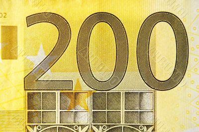 Two Hundred Euros