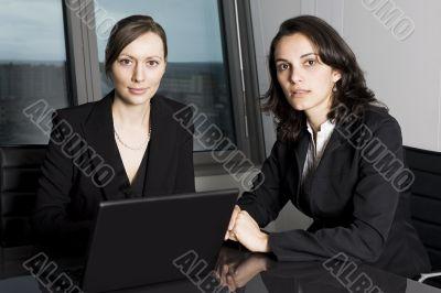 Two businesswomen
