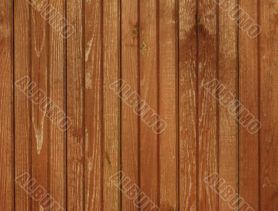 Brown colored wooden background