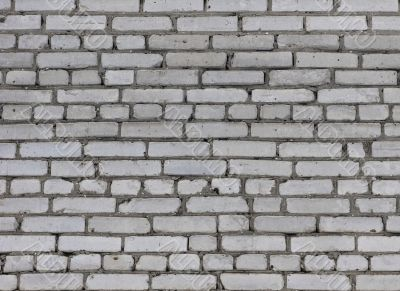 Old grey brick wall texture