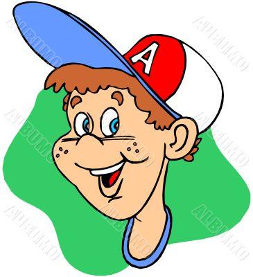 boy in cap
