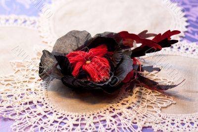 artificial handmade flowers