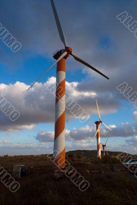 wind turbines in israel