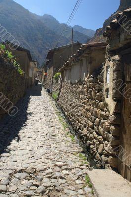 ollantaytambo old inca town