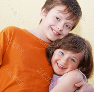 Children face two .