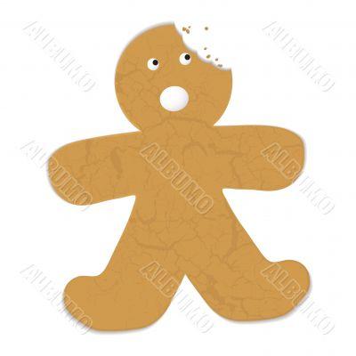 gingerbread man bite