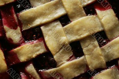 Berry pie background