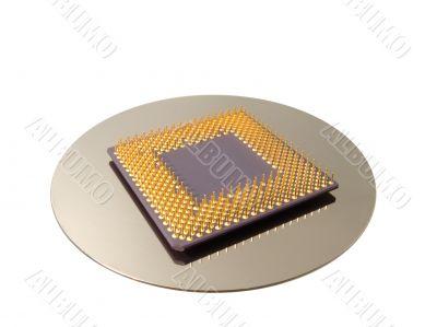 CPU & HDD platter