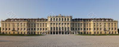 Panorama photo castle schoenbrunn, Vienna