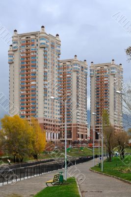 Luxurious Apartment District in Almaty