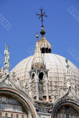 Dome of Doges palace, Venice
