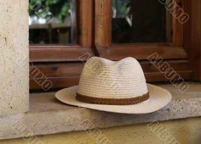 Straw mans hat