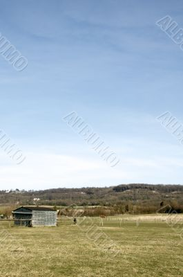 Shed in a field9