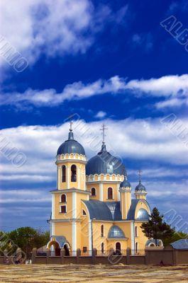Christian church in Chisinau