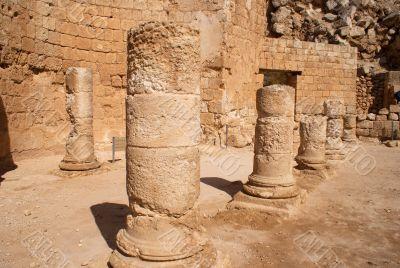 Herodion ruins in Israel