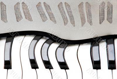 Accordion background