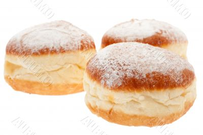 Doughnut with dust sugar