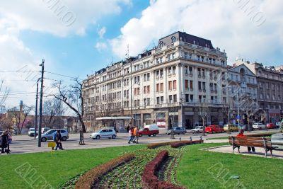 Cityscape Belgrade