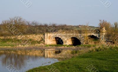 Ancient stone bridge