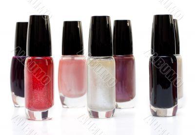 Vials colour varnish nailwaer