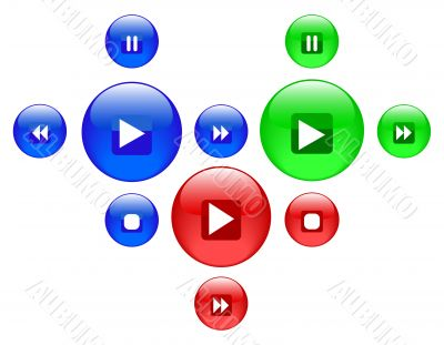 round buttons