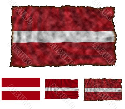 Flag of Latvia