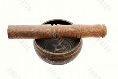 Tibet singing bowl