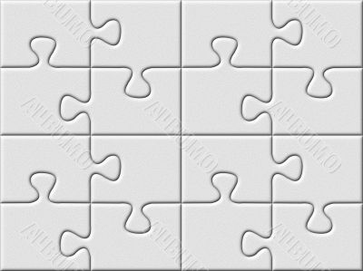 gray puzzle plane background with patterned surface