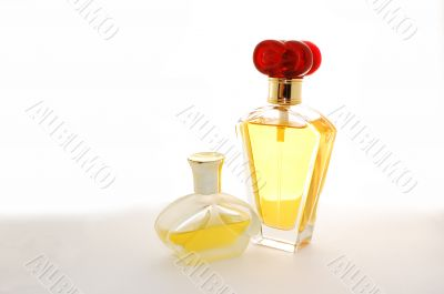 two bottle of perfume
