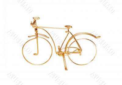 Brass wire bicycle