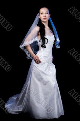 pretty tall bride