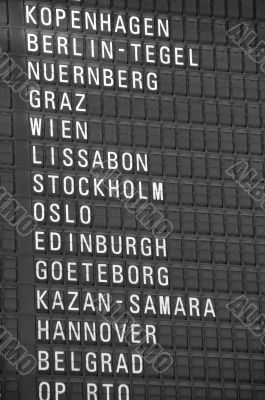 Destination Signboard
