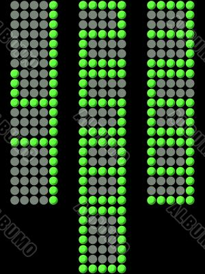 Electronic Display Numbers