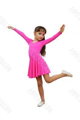 girl  fitness pink sport