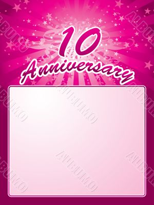 anniversary template
