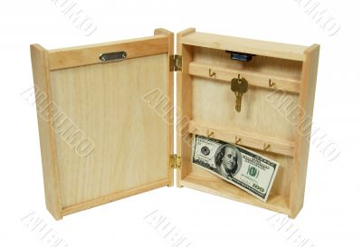 Key holder money hidden