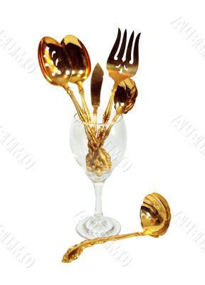 Luxurious table set