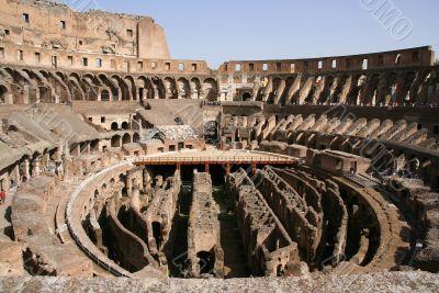 Coliseum inside