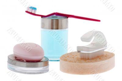 Brushing teeth and personal hygiene