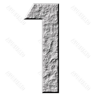 3D Stone Number one