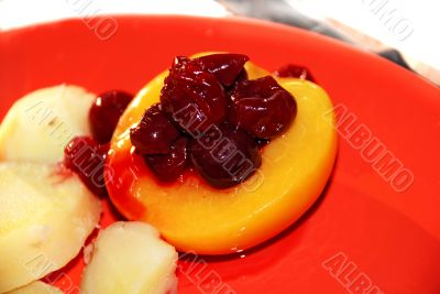sweet fruit compote