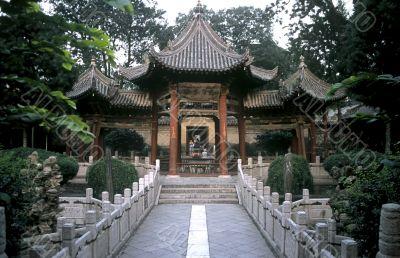 Temple Garden in Xian ,China