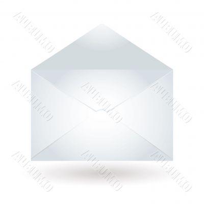 envelope light blue