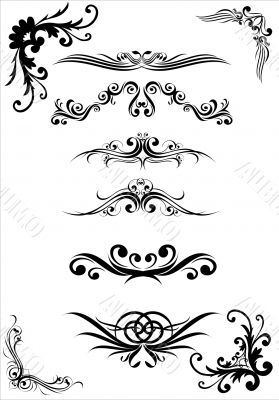 patterns and ornaments