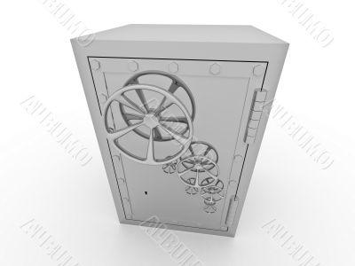 Metallic safe