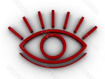 The stylised eye