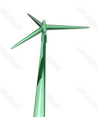 3d wind turbine mill