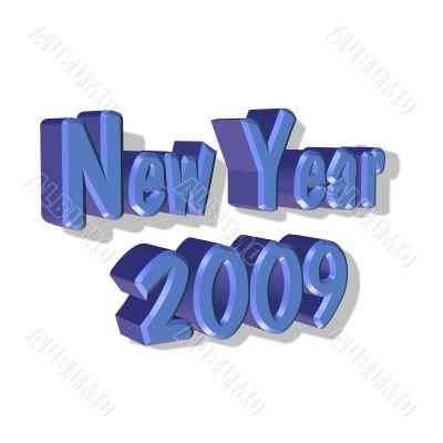 New Year 2009.