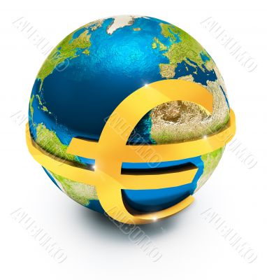Global euro currency