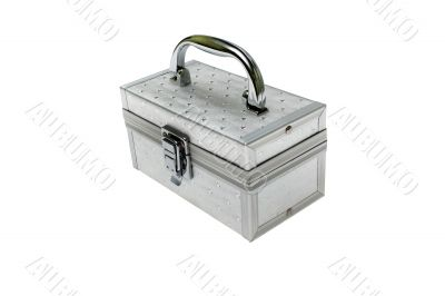 Magic chest with stars isolated